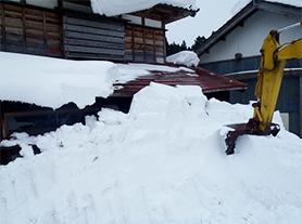 住宅周辺除雪写真01